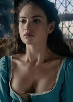 lily james nackt