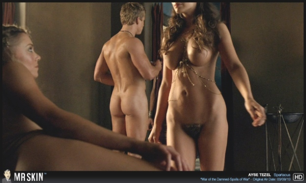 Tv Nudity Report Californication, Spartacus, Girls Pics-9978