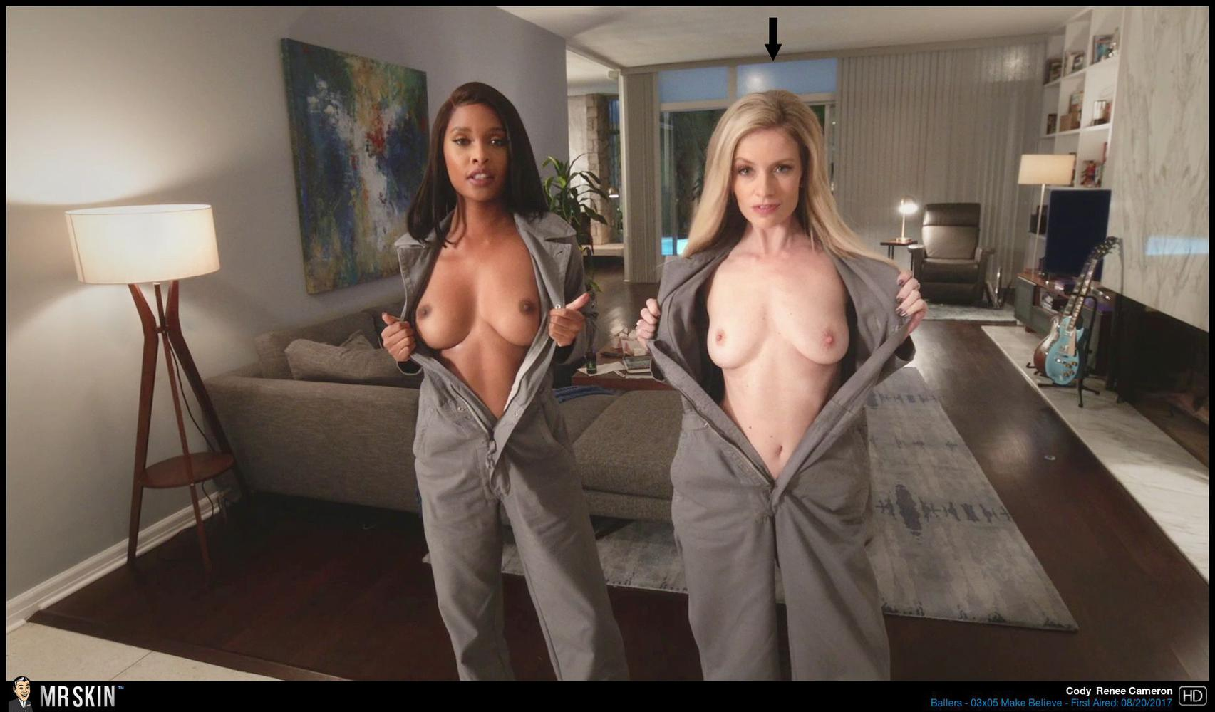 Angela Kinsey Nude Scene skincoming on dvd & blu-ray: half magic, ballers s3, & more