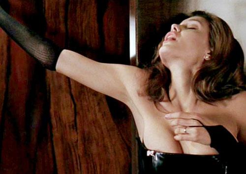Angelina jolie spanked moving dildo
