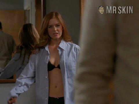 Isla Fisher tits
